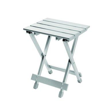 Camp Gear Klapphocker und Tisch Grau 30x25x40cm