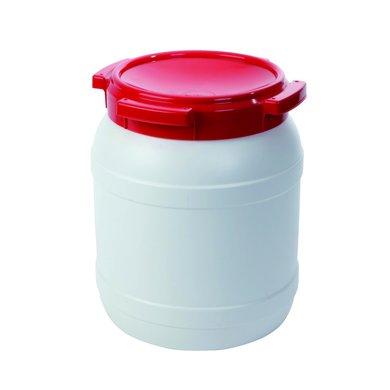 Agradi Wasserschließfach wasserdicht Weiß/Rot 15,4l