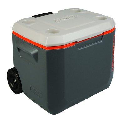 Coleman Cooler Box 50qt Wheeled Xtreme Cool Grey