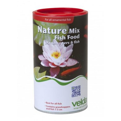Velda Nature Mix Fish Food 1250ml