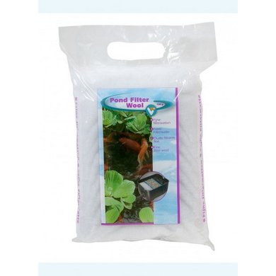VT Pond Filter Wool white 100g