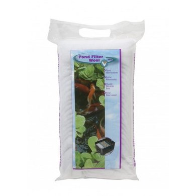 VT Pond Filter Wool white 250g