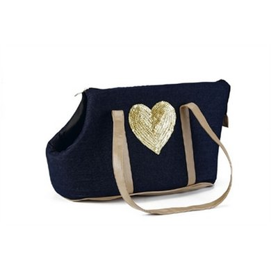 Draagtas Shiny Heart 43x20x26cm