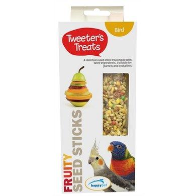 Tweeters Treats Zaadsticks Papegaai Fruit