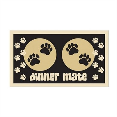 Pet Rebellion Voermat Mini Mate Zwart 40x30cm
