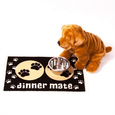 Pet Rebellion Voermat Dinner Mate Zwart 60x40cm