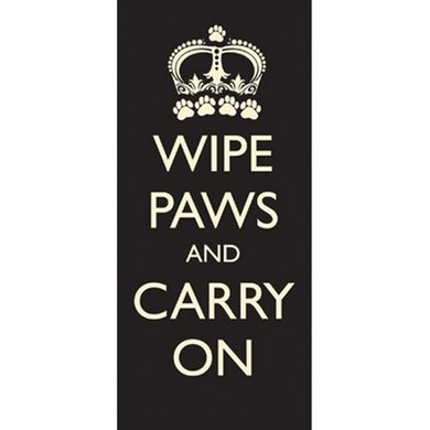 Pet Rebellion Schoonloopmat Wipe Paws Carry On 100x45cm