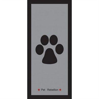 Pet Rebellion Schoonloopmat/deurmat Stop Muddy Paws 100x45cm