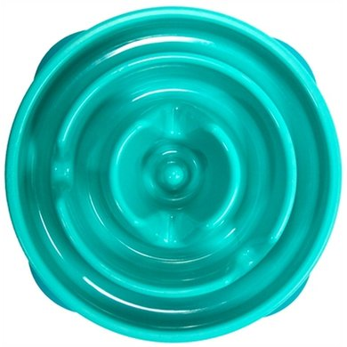 Agradi Food Bowl Slo-Bowl Mini Liquorice Lightblue 22X22X5cm