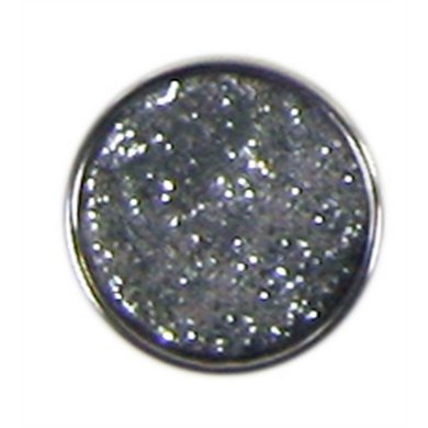 Button Glitter Wit Diam 1.5cm