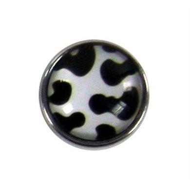 Button Koe Print Diam 1.5cm