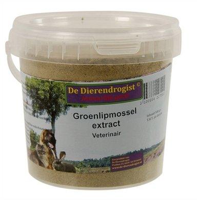 Dierendrogist Groenlipmossel Extract Veterinair 500 Gr