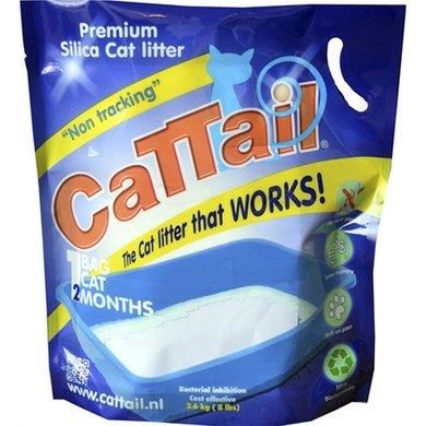 Cattail Trackless Silica Kattenbakvulling 7.6l 3.6kg