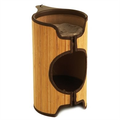 Jolly Moggy Kattenmand Cat Tower Bamboe 41x33x51.5cm