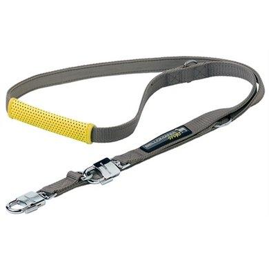 Bellomania Sport Looplijn Rupert Grijs/geel 200x2cm