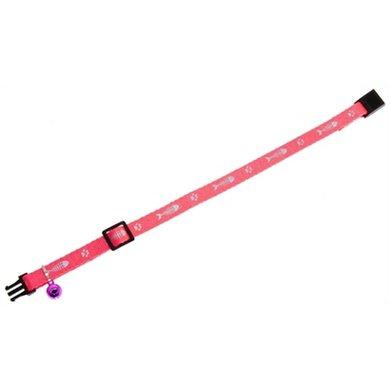 Karlie Flamingo Veiligheidshalsband Kat Roze 10mm 20-35cm