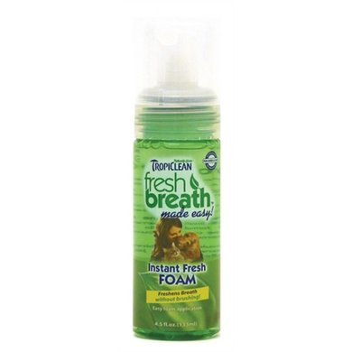 Tropiclean Fresh Breath Instant Fresh Foam 133ml