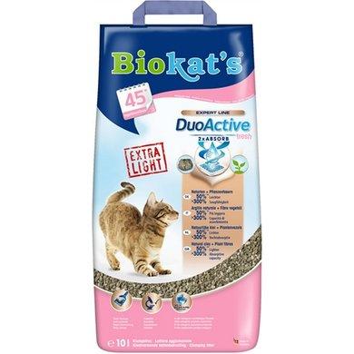 Biokats Kattenbakvulling Duoactive Fresh 10l/5.4kg