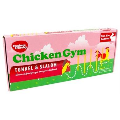 Kippenspeeltje Chicken Gym Tunnel En Slalom