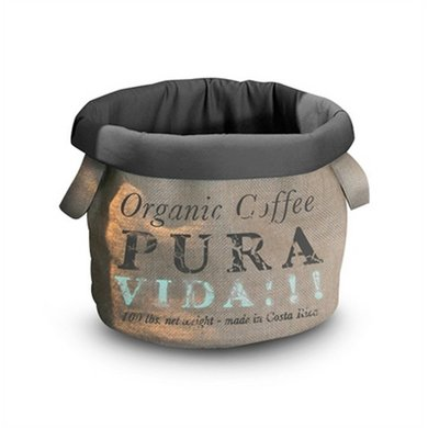 D&d Kattenmand Pet-bag Coffee Pura Vida 35cm