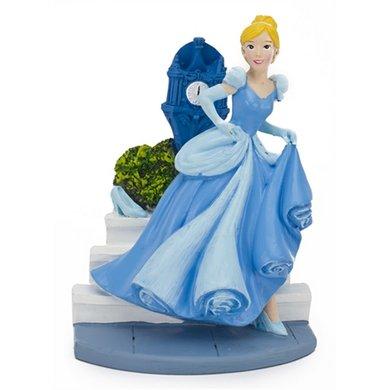 Disney Assepoester Met Klokkentoren Aquarium Ornament 9cm