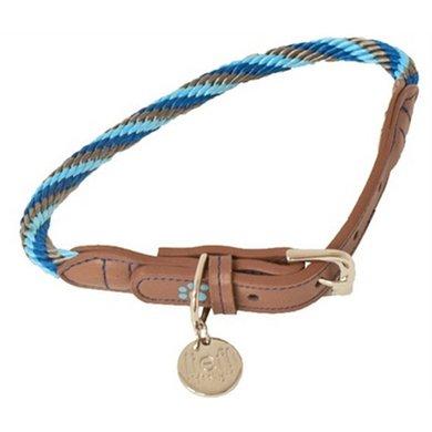 Lief! Halsband Boys Blauw/Bruin 45x1cm