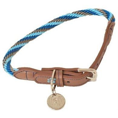 Lief! Halsband Boys Blauw/Bruin 55x1cm