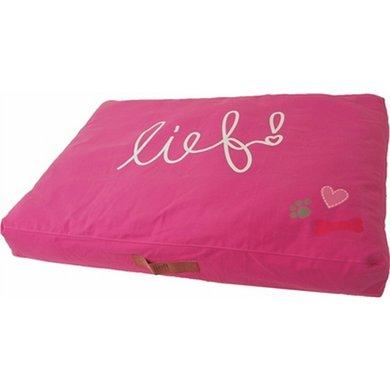 Lief! Ligkussen Lounge Lief Girls Roze 100x70cm