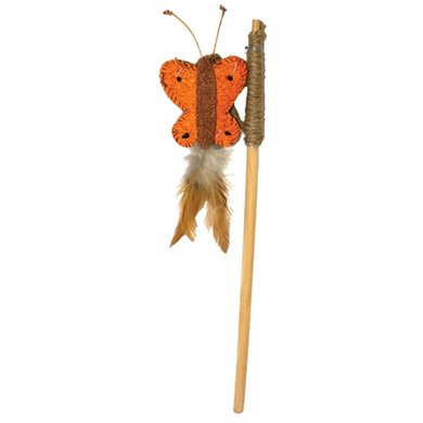 Jolly Moggy Natural Wild Kattenhengel Vlinder Catnip 112cm