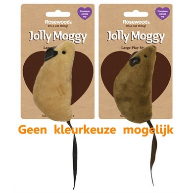 Jolly Moggy Natural Wild Speelmuis Groot Met Catnip Assorti