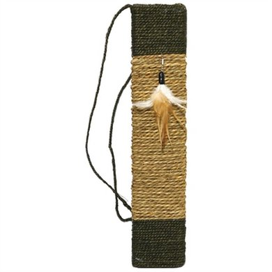 Jolly Moggy Natural Scratch & Play Krabmat Catnip 49x10x2cm