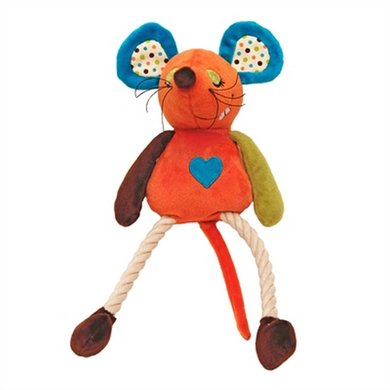 Mr Twister Millie Mouse Pluche Floss Speelgoed 33cm