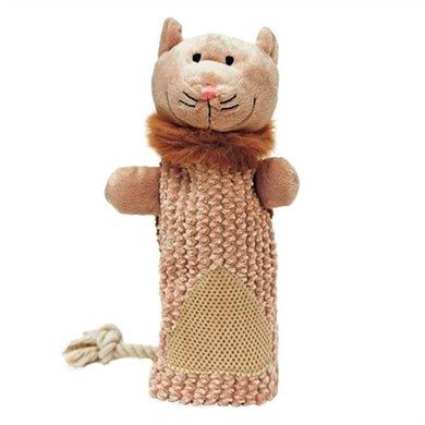 Mr Twister Clara Cat Cruncher Pluche Floss Speelgoed 43cm
