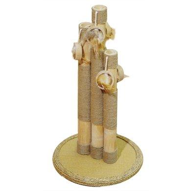 Krabpaal Basil Bamboe 35x35x55cm