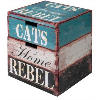 D&d Katten Box Rebel Large 40x40x50cm