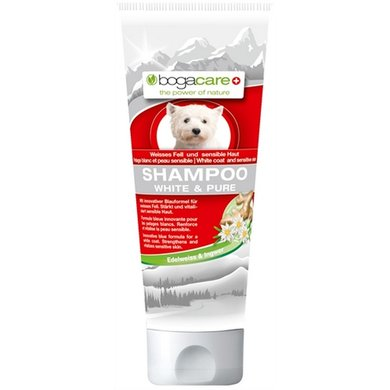 Bogacare Shampoo White & Pure Voor Witte Vacht 200ml