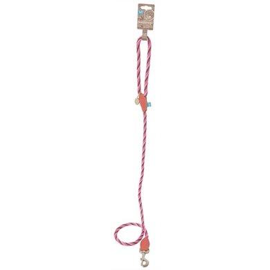 Lief! Hondenriem Bevestigingsring Girls Beige/roze 130x0.8cm