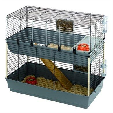 Ferplast Konijnenkooi Rabbit Dubbel 118x58x102cm