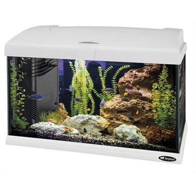 Ferplast Capri Aquarium Wit 52x27x36cm