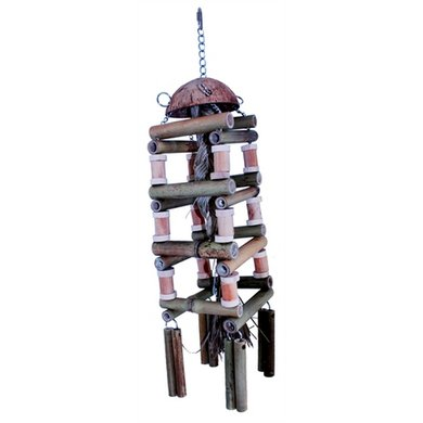 Happy Pet Nature 1 Speelgoed Papegaai Coco Tower 69x15x15cm