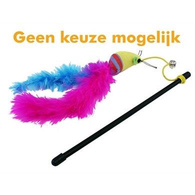 Cat N Caboodle Kattenhengel Carnival Muis Assort 25x2.5x4cm