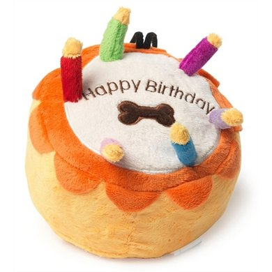 House Of Paws Pluche Birthday Cake 19x19x14cm