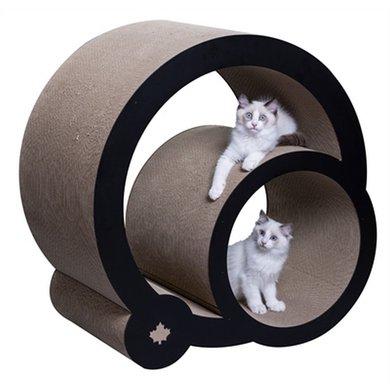 Krabpaal Cats Grove XXL Zwart/Wit 46.5x90x82cm