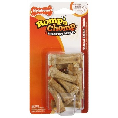 Nylabone Rompn Chomp Mini Souper Snack Navulling 9 St