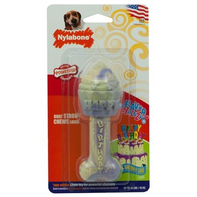 Nylabone Durable Chew Birthday Bone Taart Smaak Wolf