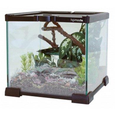Komodo Nano Habitat Glazen Terrarium 21x21x20cm