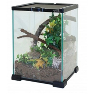 Komodo Nano Habitat Glazen Terrarium 21x21x30cm