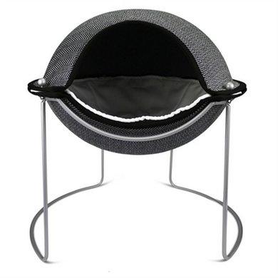 Hepper Pod Kattenmand Visgraat Zwart/Wit