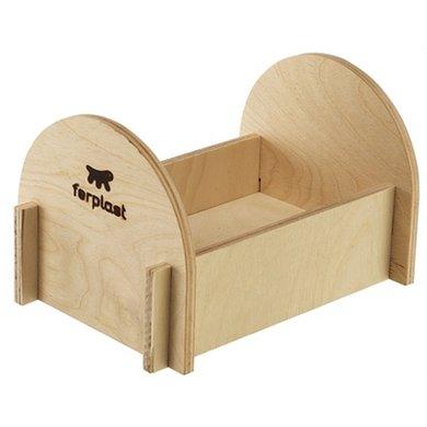 Ferplast Hamster Bed Sin 4655 Hout 18x12x10.5cm