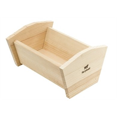 Ferplast Cavia Bed Sin 4658 Hout 25x19.5x13.5cm
